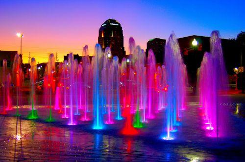 светильники для фонтанов